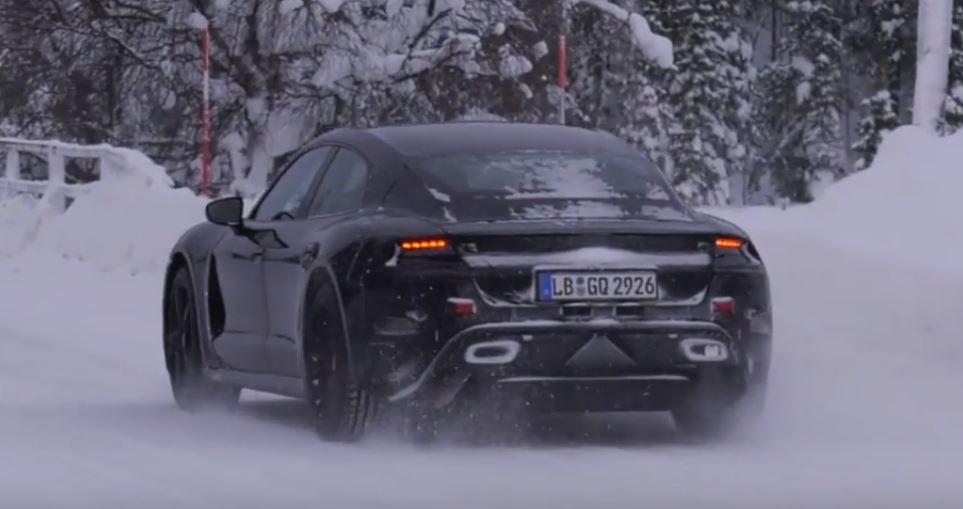 гоночный электрокар Porsche J1