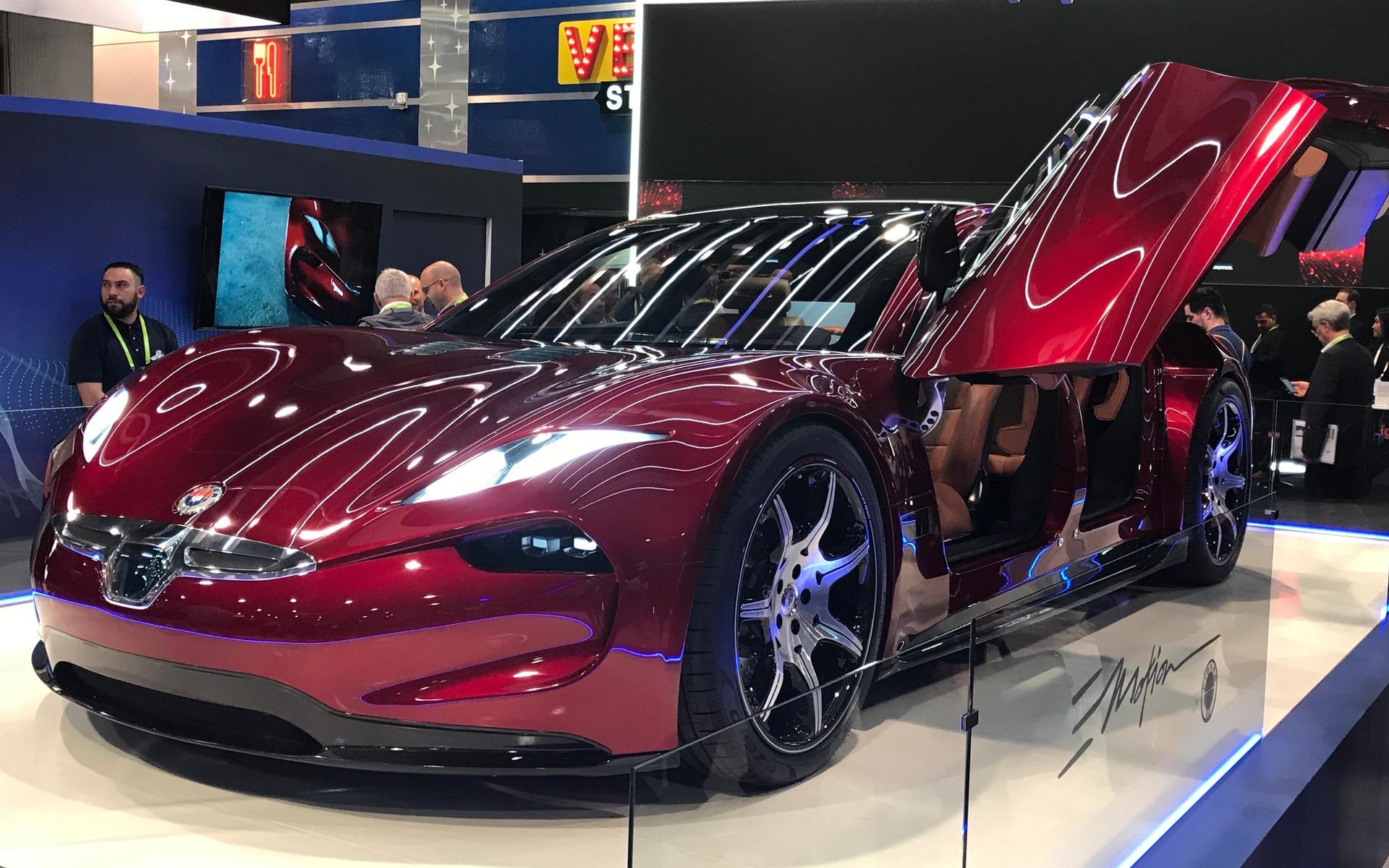 Автомобильный лидар установят на Fisker EMotion