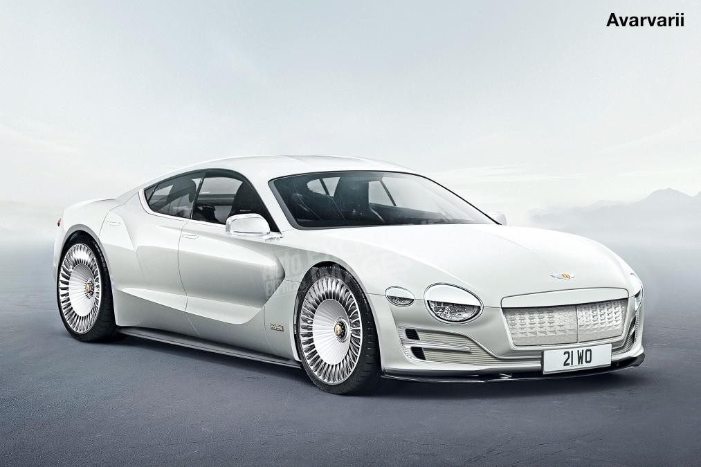 электромобиль от Bentley - концепт