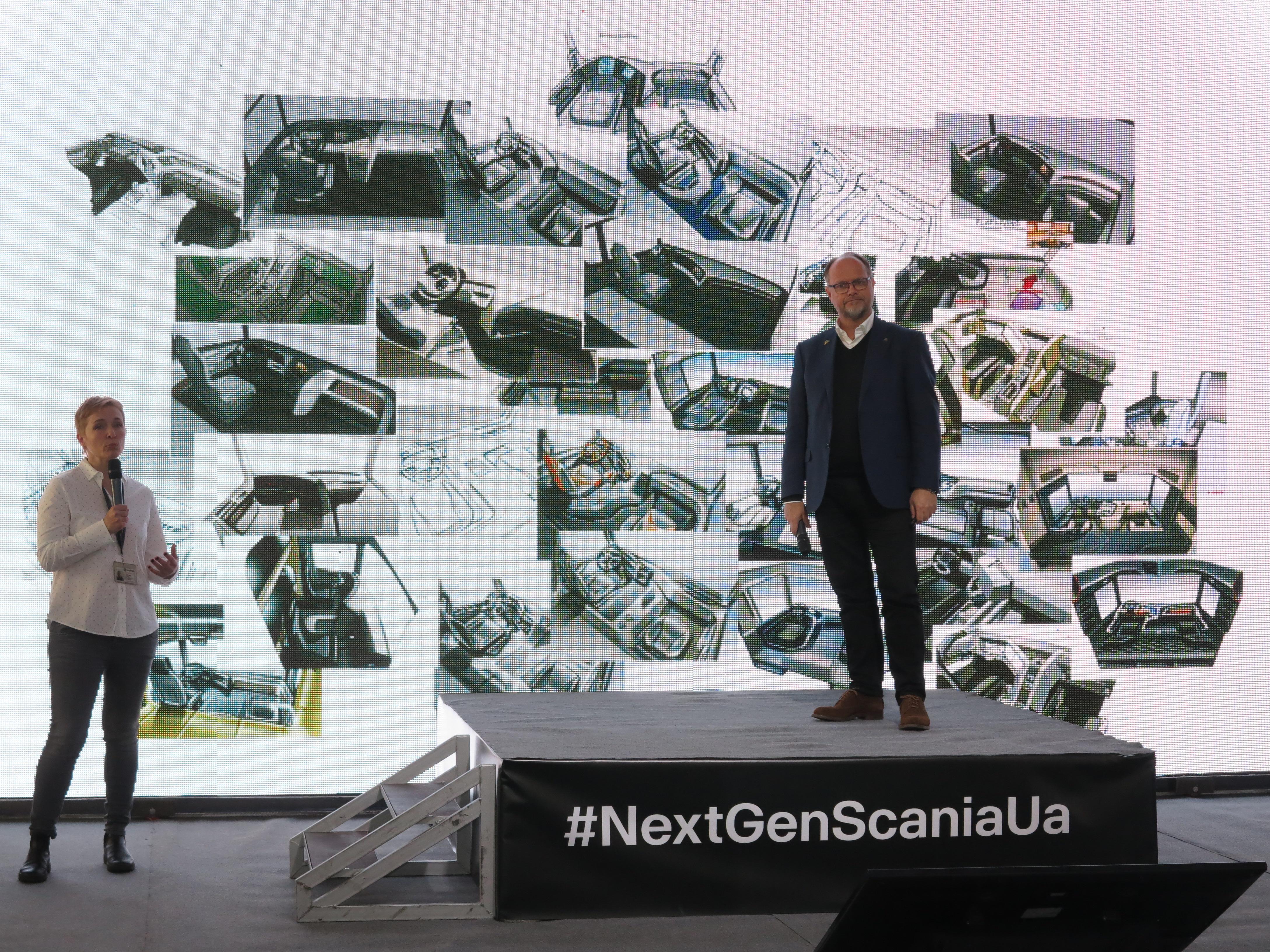 Кристофер Хансен, руководитель подразделения Стиль и Промышленный дизайн Scania