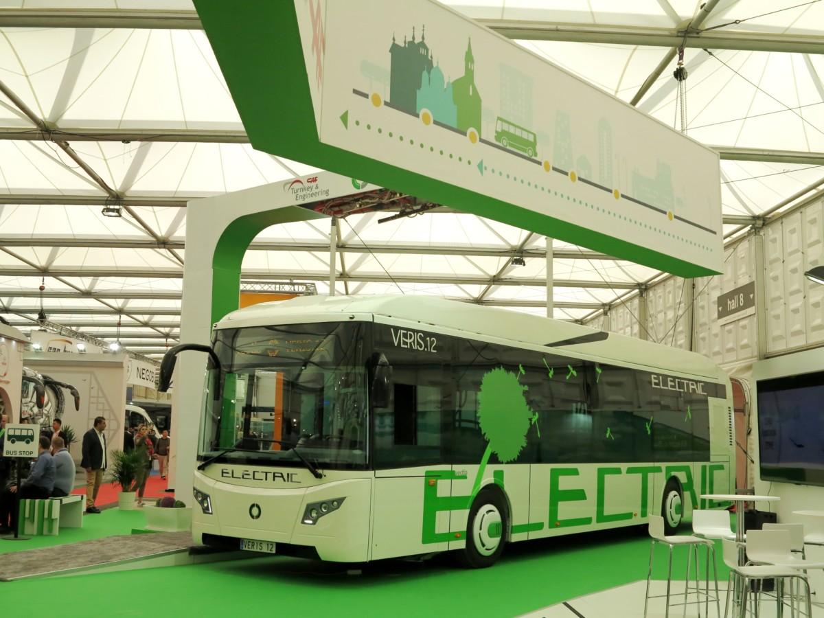 Электробус Vectia Veris 12
