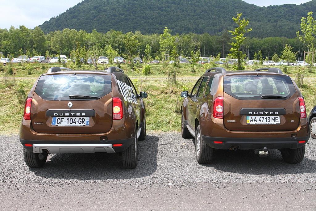 Renault Duster, LuAZ Duster