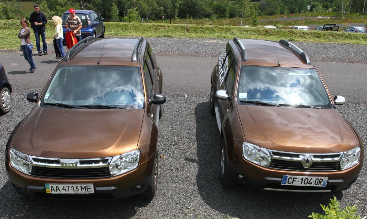 LuAZ Duster, Renault Duster