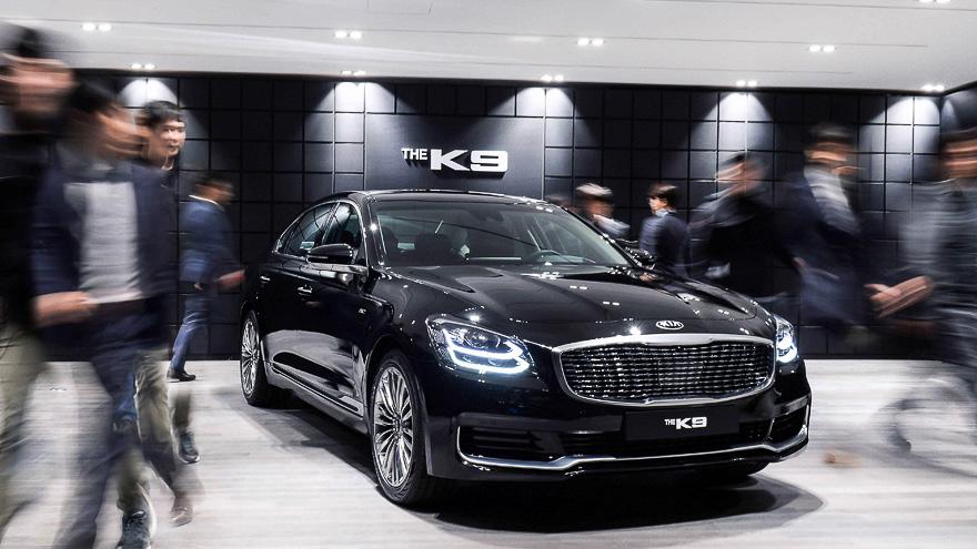 Kia K900/К9/Quoris 2018-2019