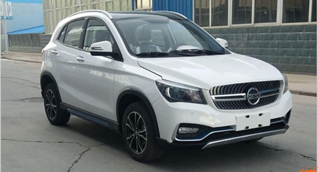 K-One - китайский клон Mercedes-BenzGLA