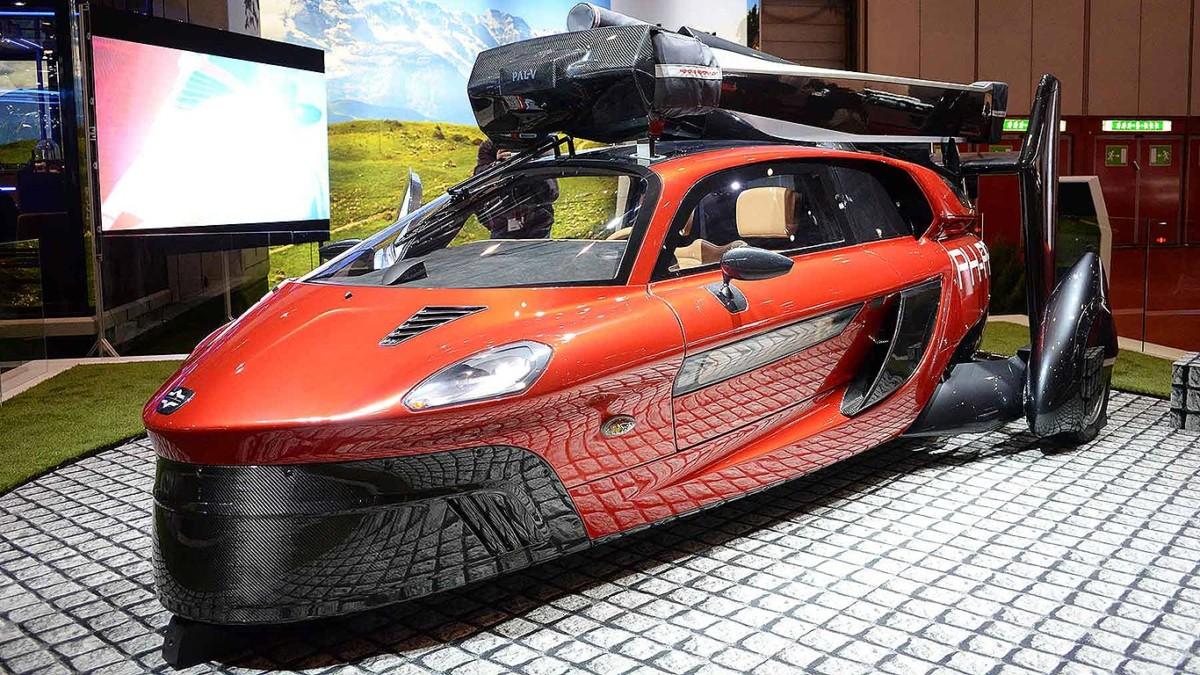 PAL-V Liberty на Женевском автосалоне