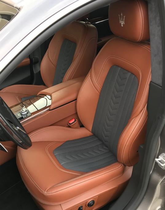Салон Maserati Quattroporte 2018