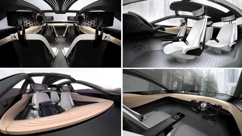 Nissan IMx салон