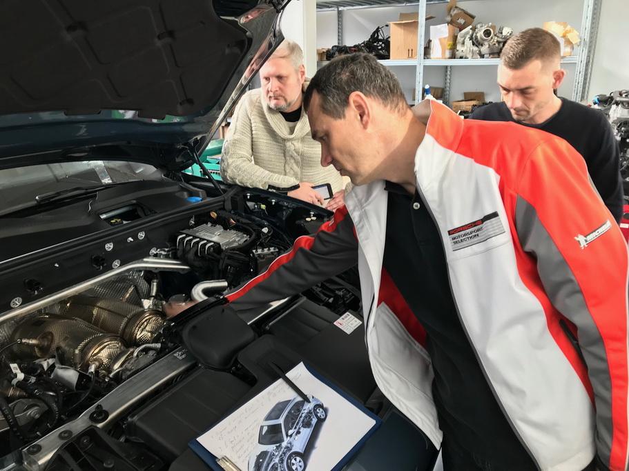 Мотор Porsche Cayenne 2018