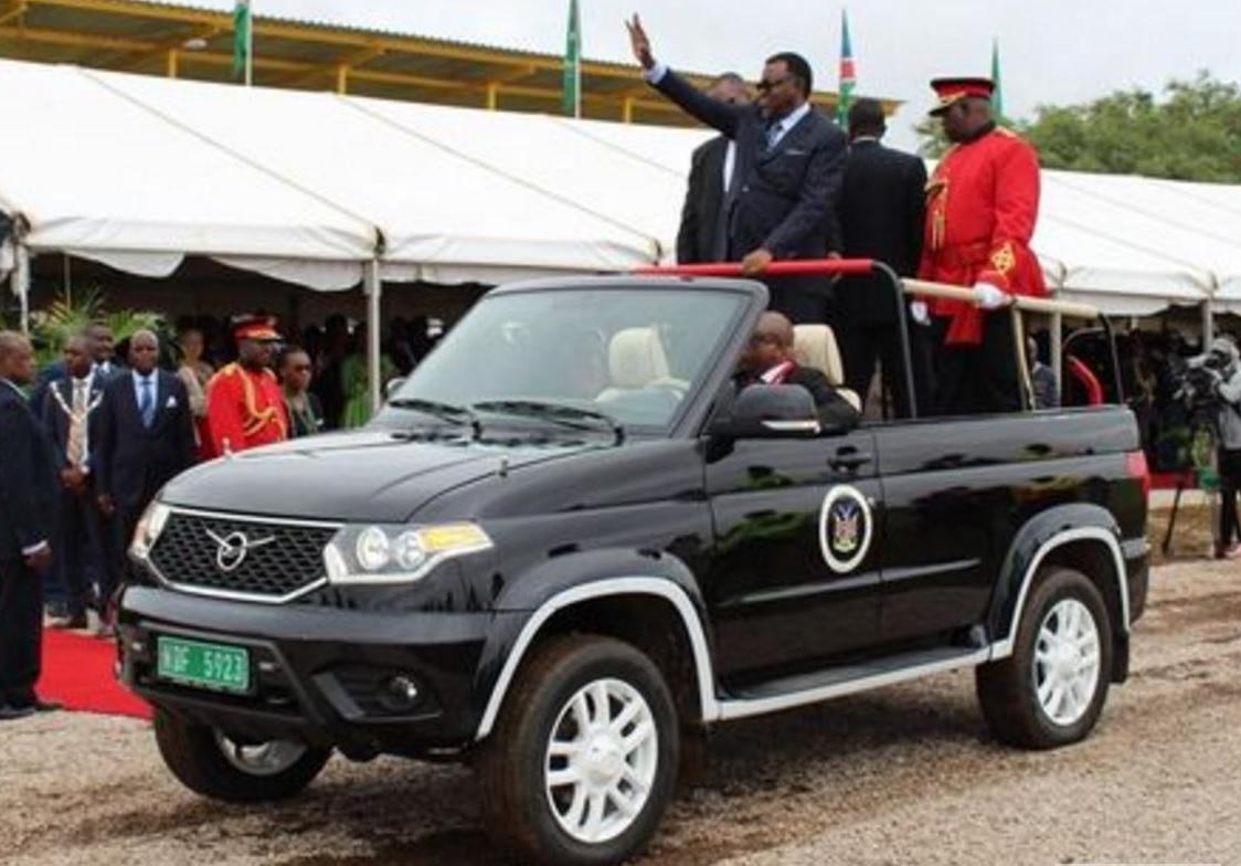 УАЗ Патриот для президента Намибии