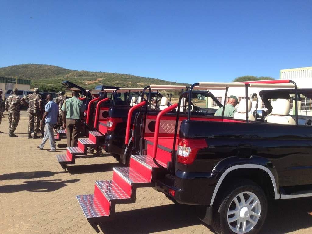 УАЗ Патриот для Намибии