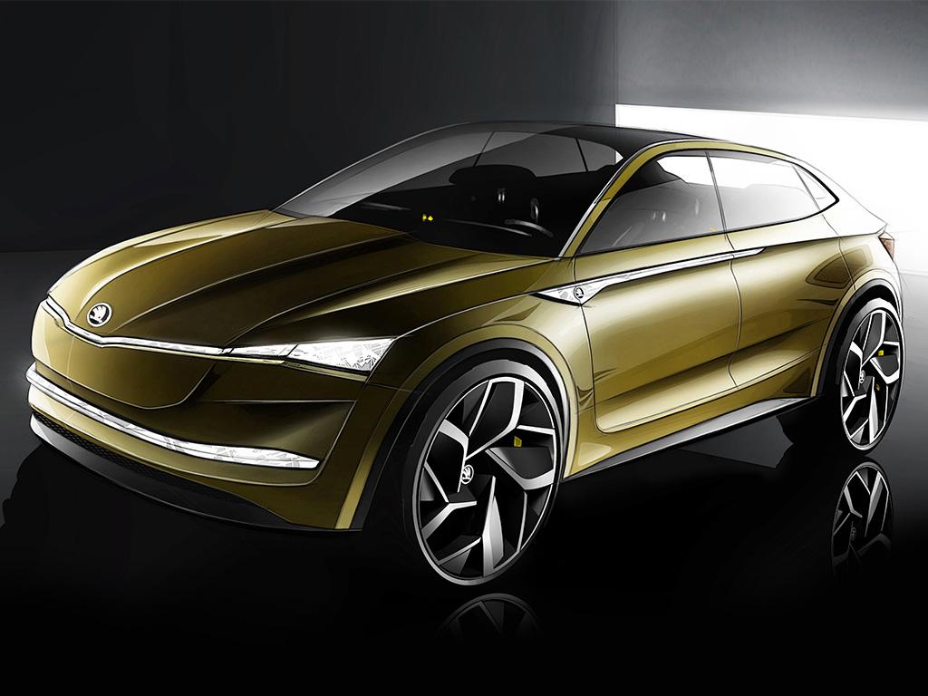 Концепт электромобиля Skoda