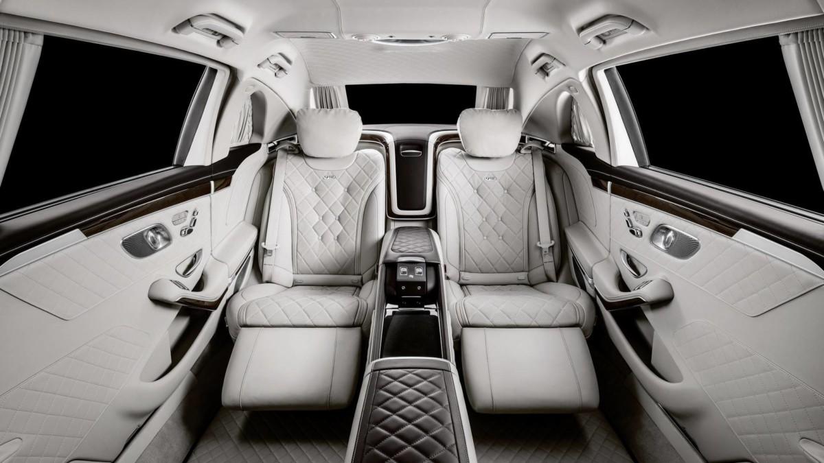 Салон Maybach S650 Pullman