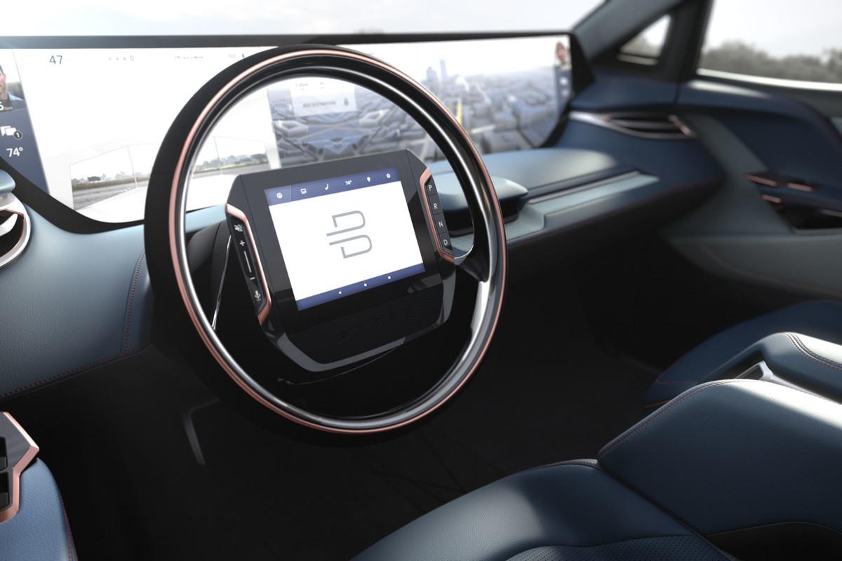 Электрический беспилотный внедорожник SUV 2019 Byton