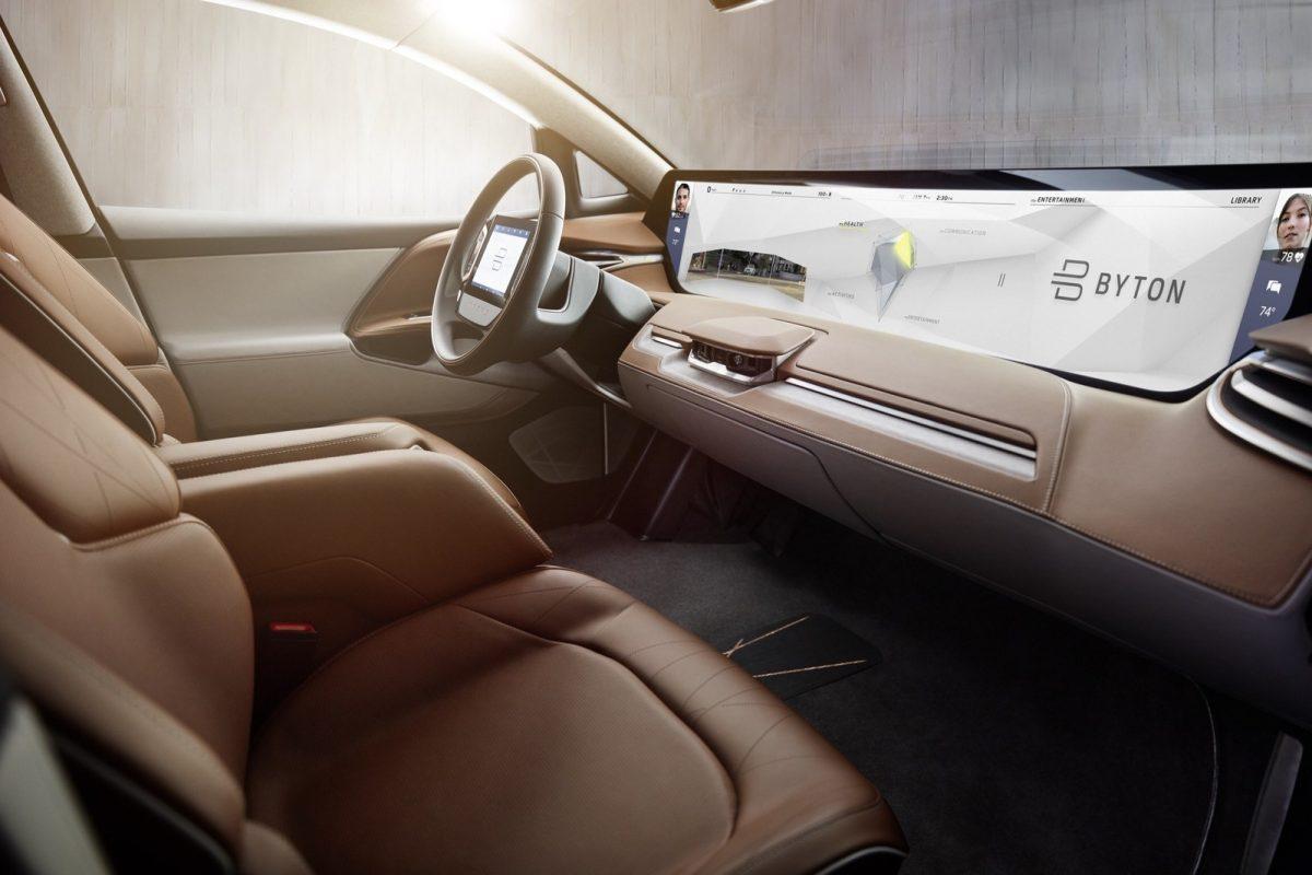 Электромобиль SUV 2019 Byton