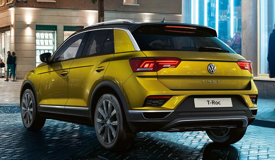 На место Volkswagen Beetle идет T-Roc