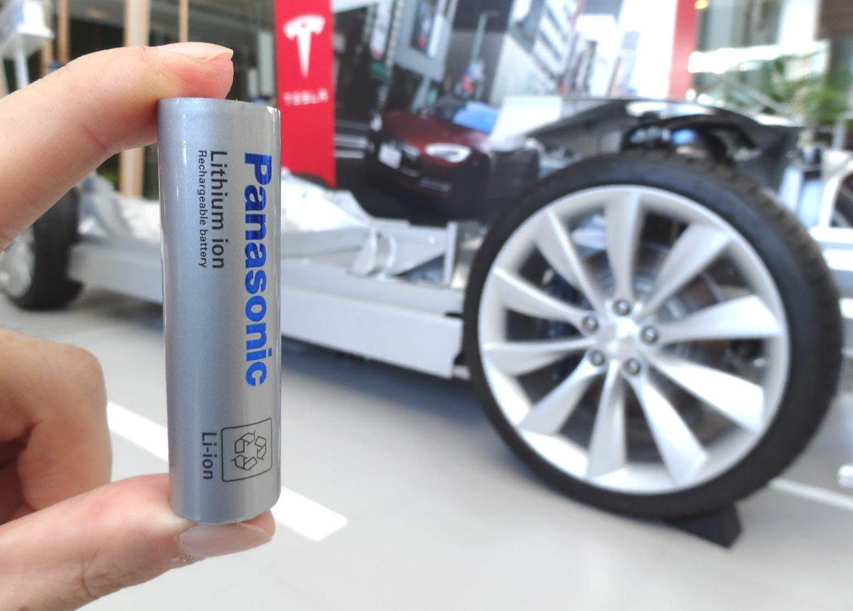 Panasonic батареи для электромобилей