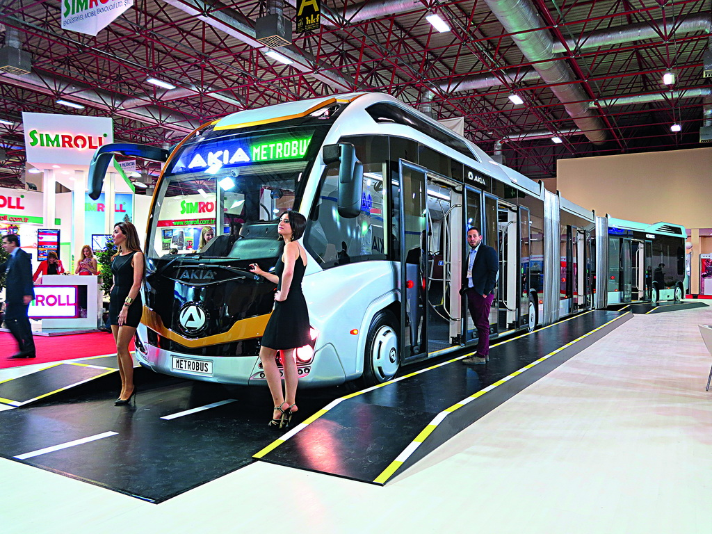 Busworld Turkey 2016 в Стамбуле