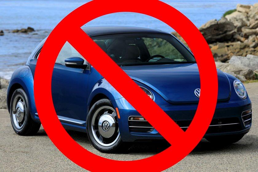 Volkswagen Beetle не будут выпускать