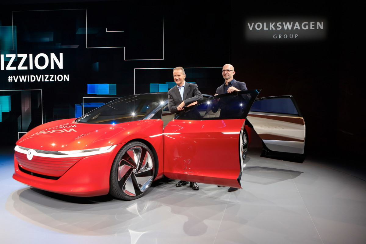 Volkswagen электромобили