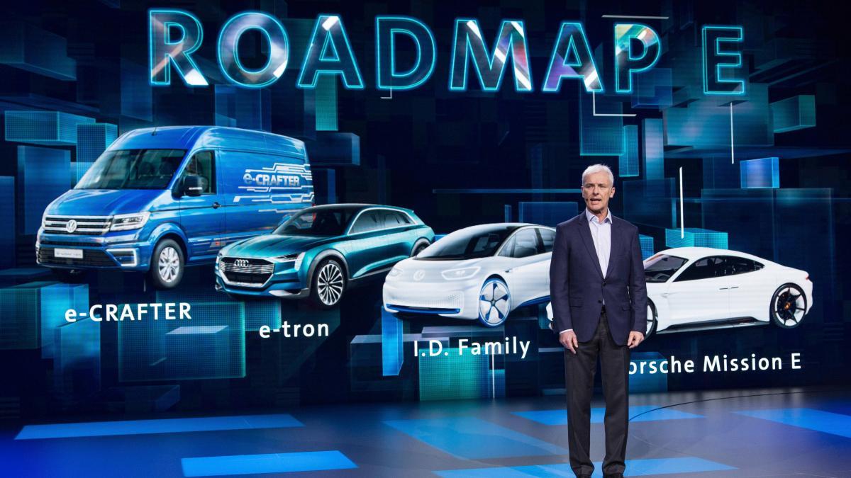 VW адаптирует 16 заводов кпроизводству электрокаров