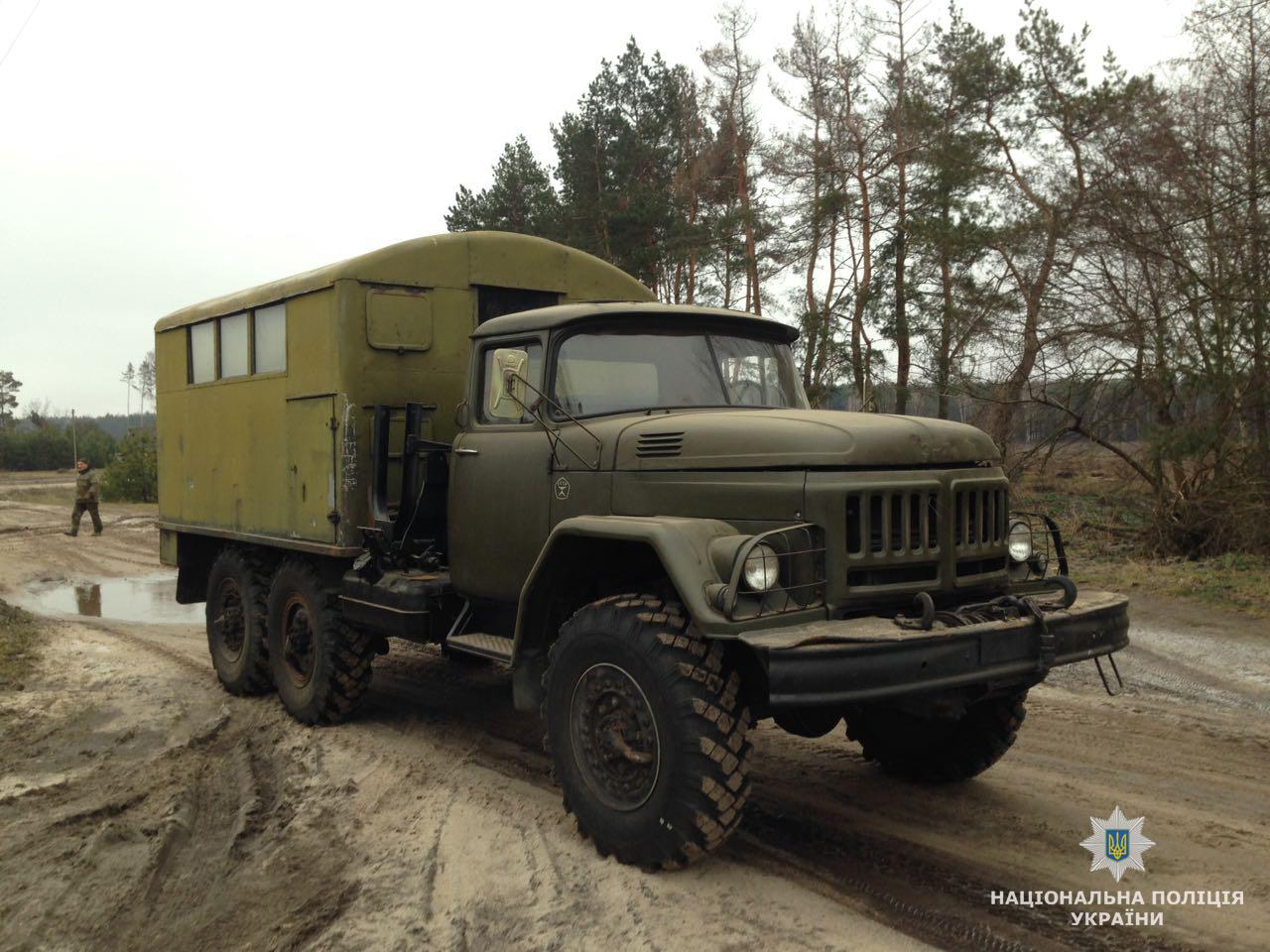 ТРМ А70 на шасси ЗИЛ-131