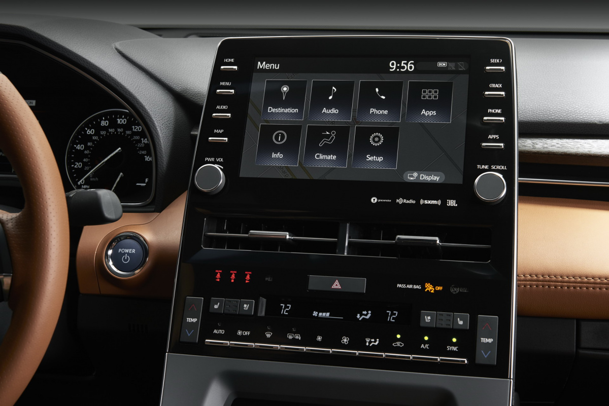 Toyota RAV4 2019: стильный интерьер