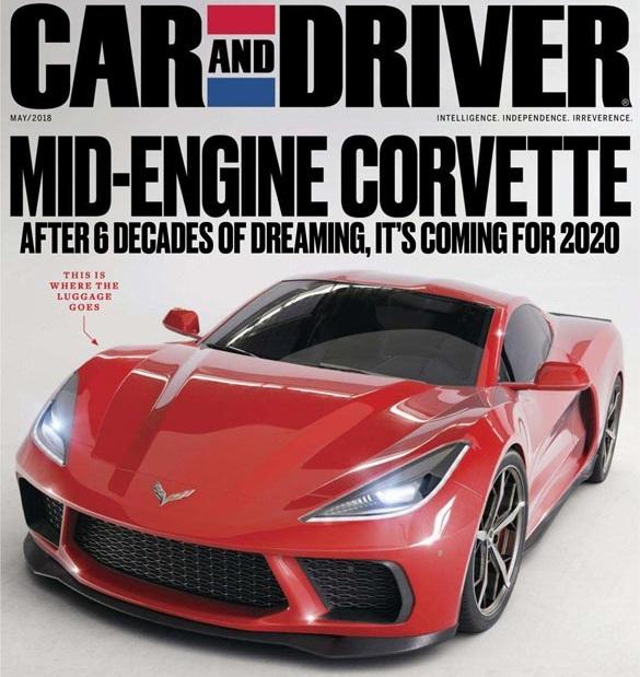 Новый Corvette 2019: среднемоторная компоновка и турбонаддув
