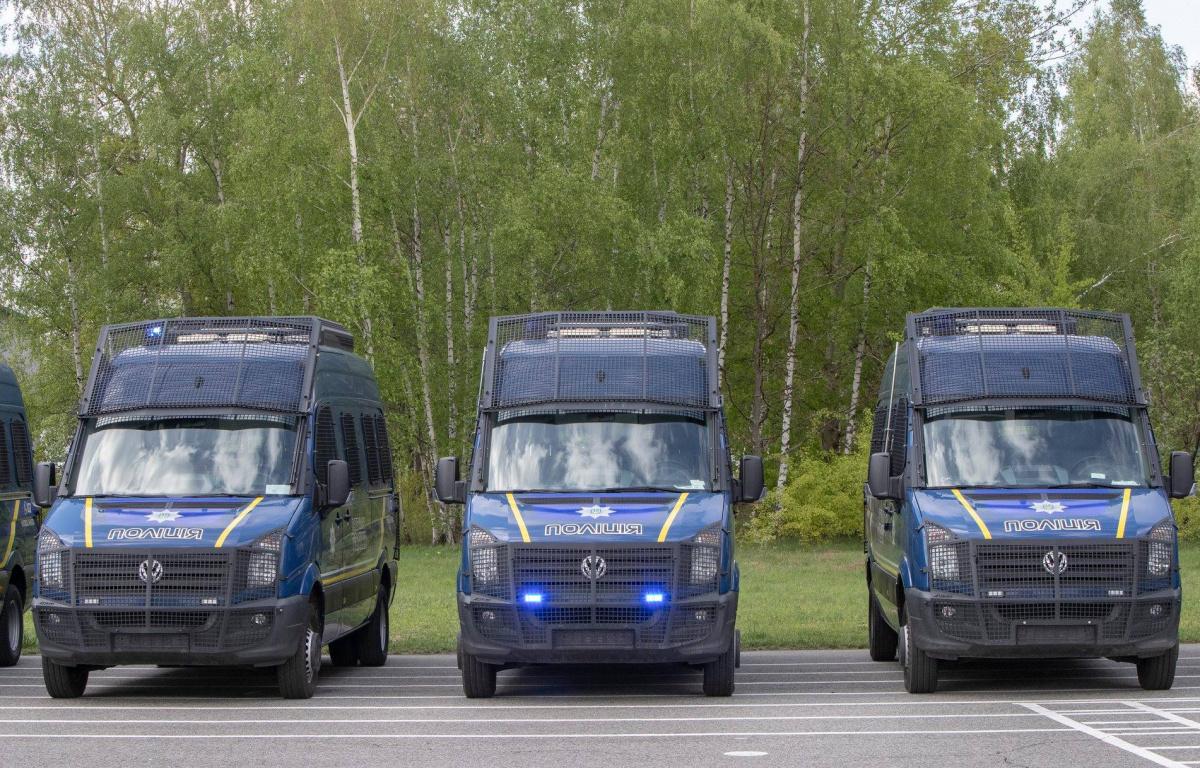 Автопарк Нацполиции пополнили новые спецавтомобили