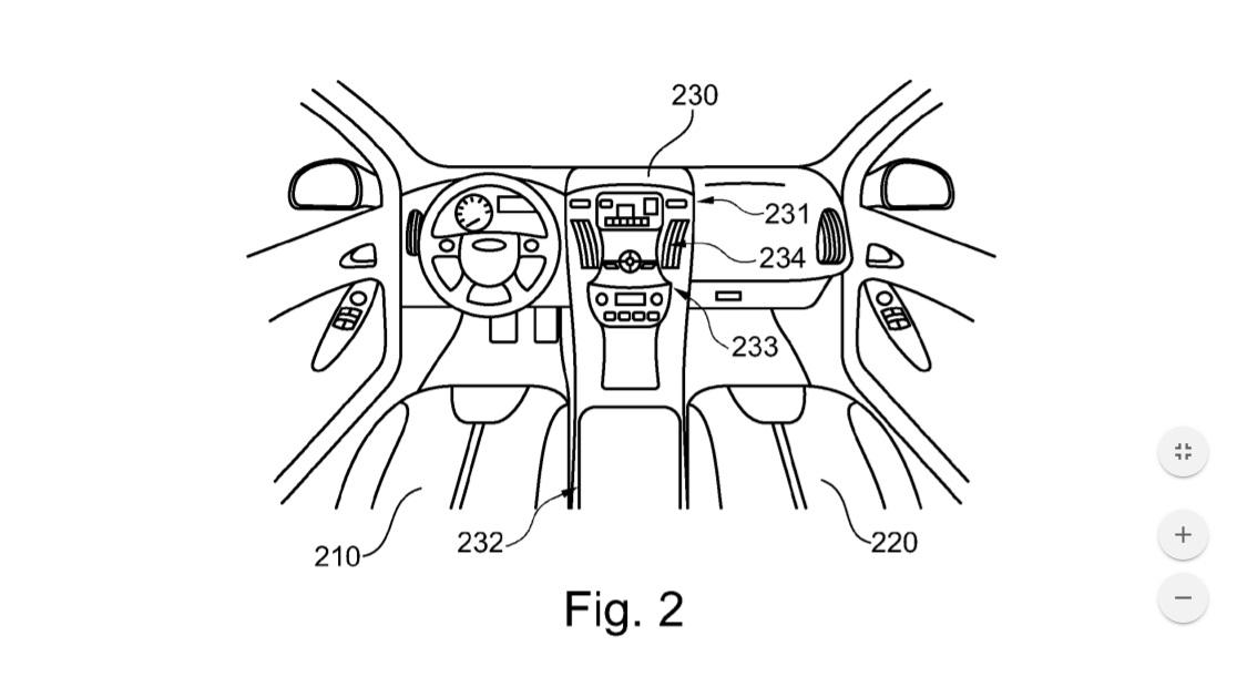 Ford автомобиль со встроенным автономным электрическим мотоциклом