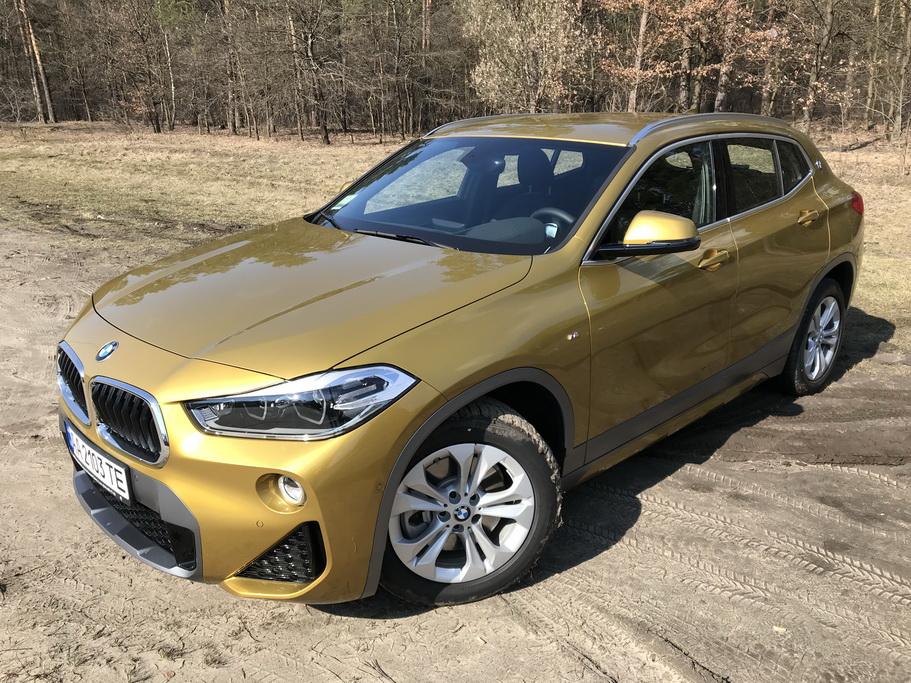 Экстерьер BMW X2 2018