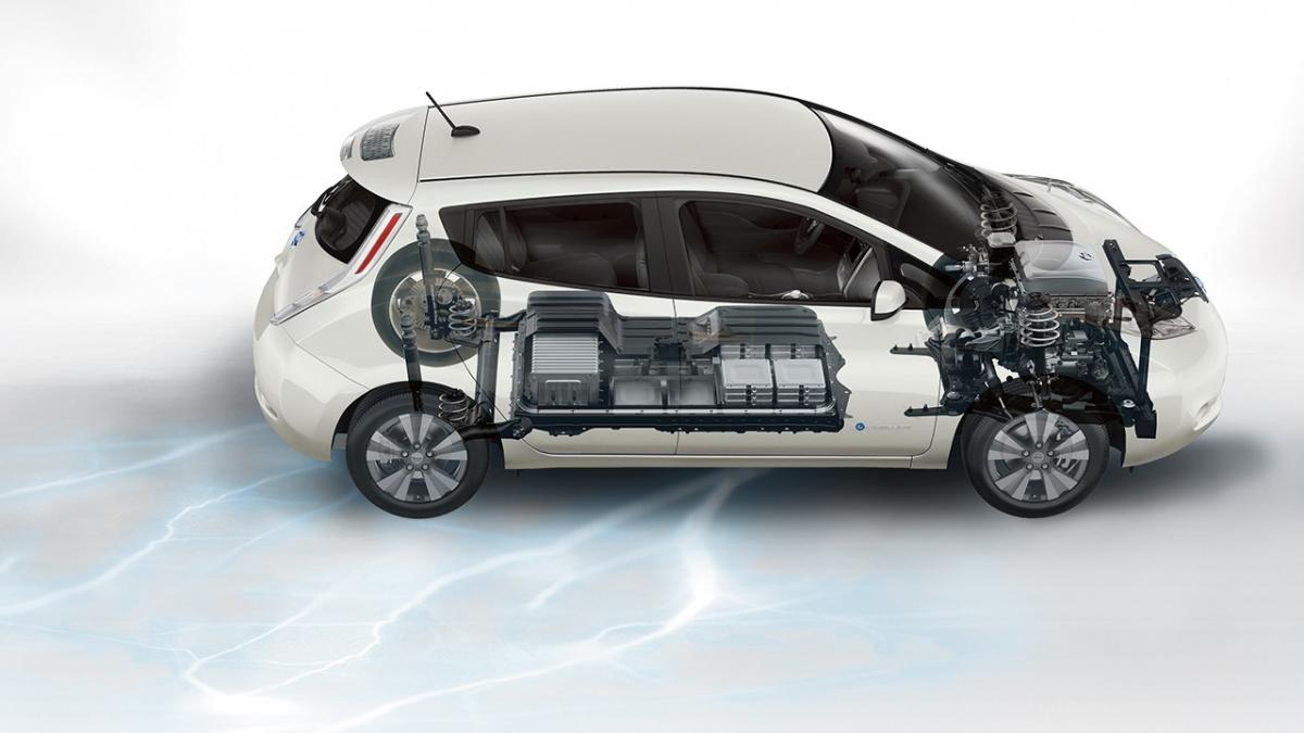 Деградация батареи Nissan Leaf