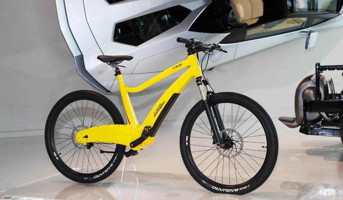 Электрический велосипед Lamborghini