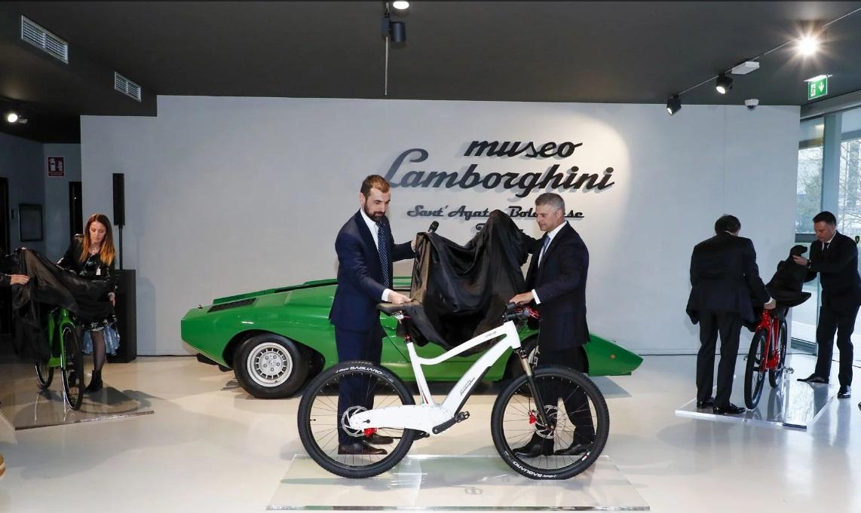 Lamborghini начинает выпускать электрические велосипеды