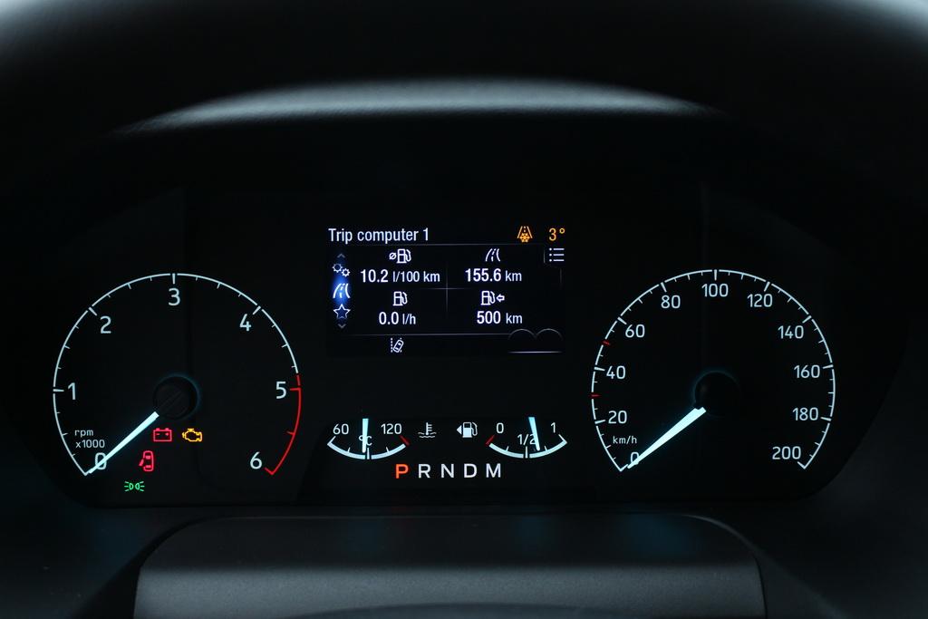 Расход топлива Ford Transit 2018