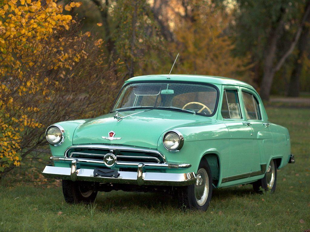 Советские автомобили - ГАЗ-21