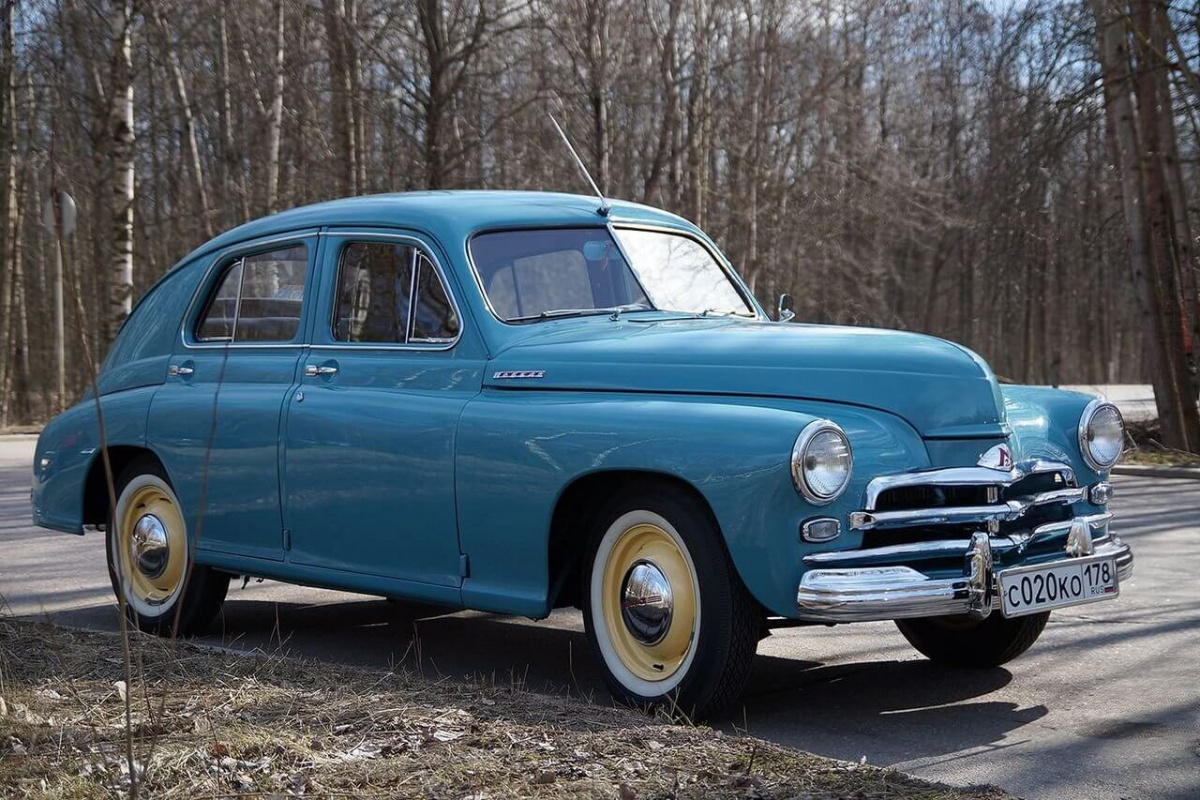 Советские автомобили - «Победа» ГАЗ-М-20