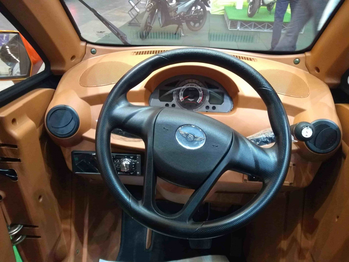 Вгосударстве Украина появился электромобиль за5 500 долларов