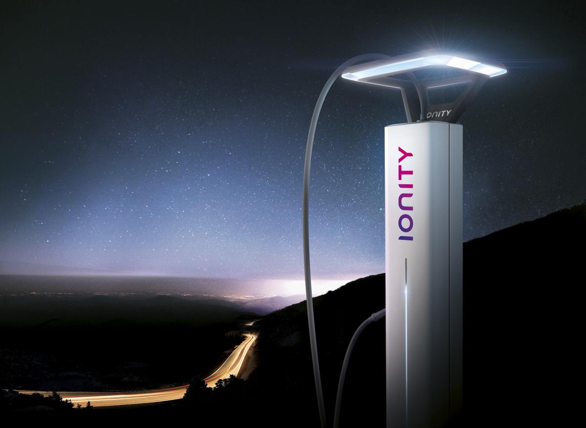 Станция супербыстрой зарядки Ionity