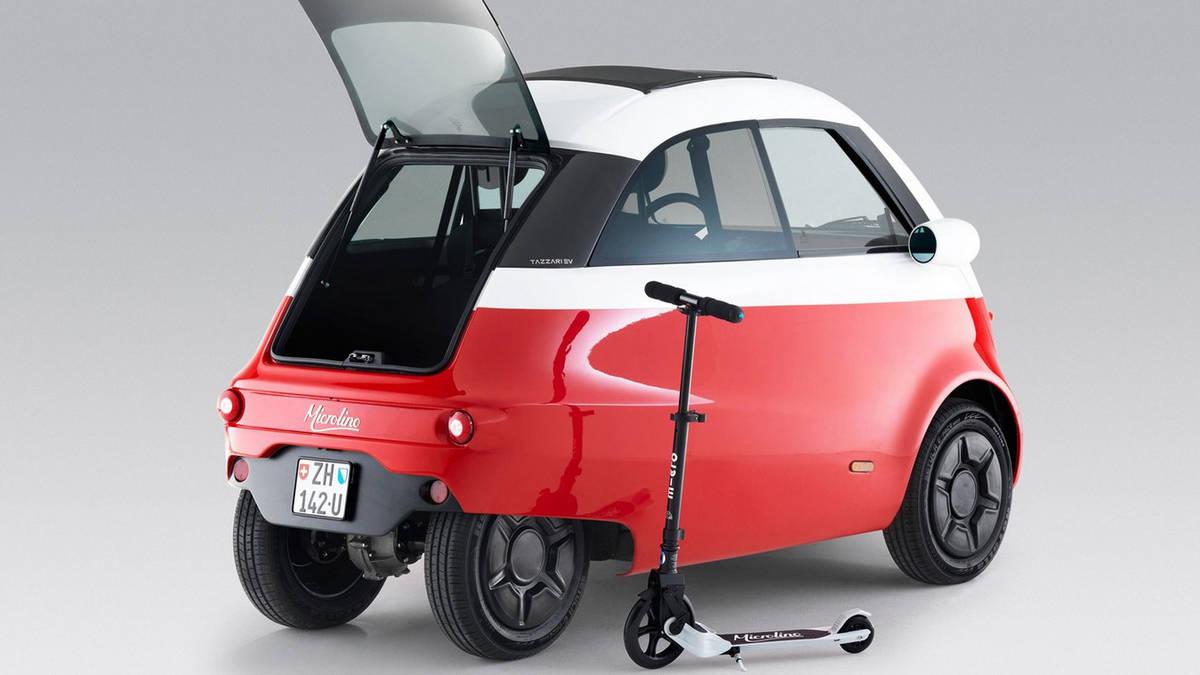 автомобиль Microlino