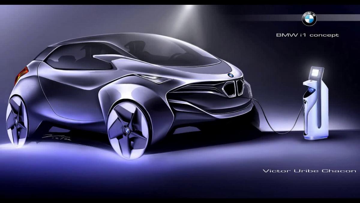 концепт электромобиля BMW i1