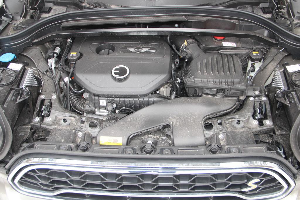 Двигатель гибридного MINI Cooper S E