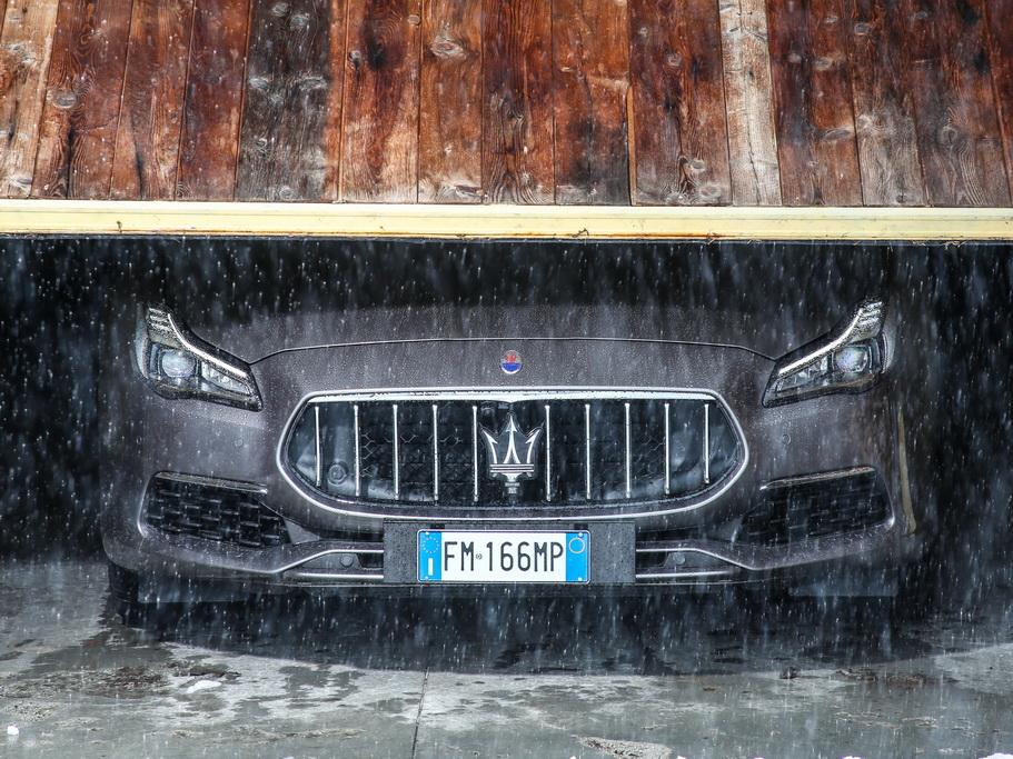 Внешность Maserati Quattroporte