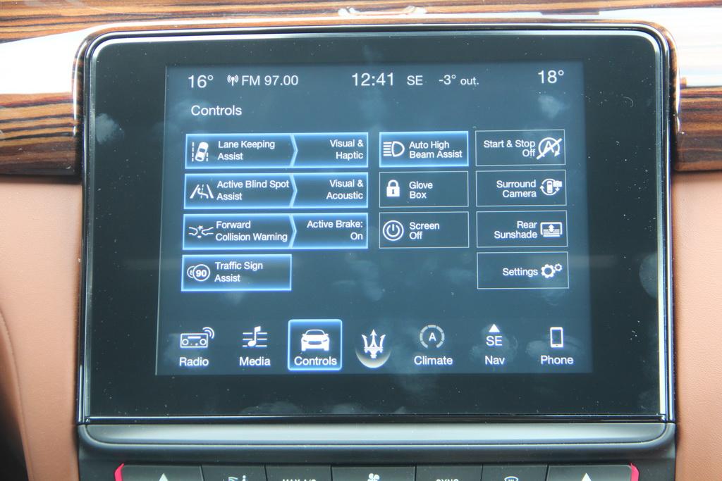 Системы безопасности Maserati Quattroporte