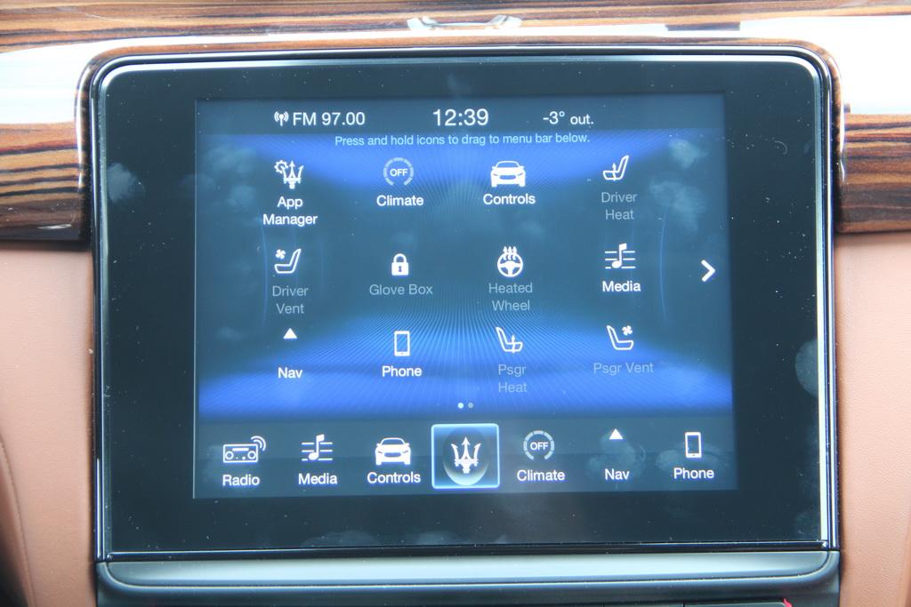 Оснащение Maserati Quattroporte