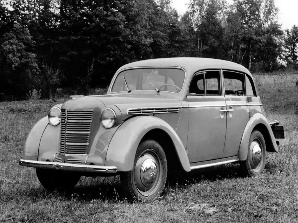 Советские автомобили - Москвич 400