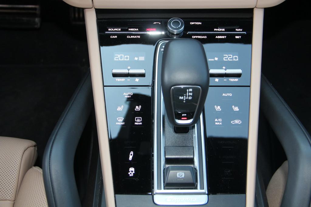 Оснащение Porsche Cayenne