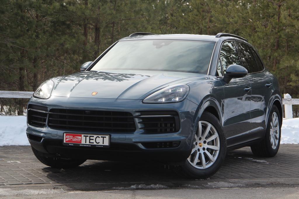 Внешность нового Porsche Cayenne