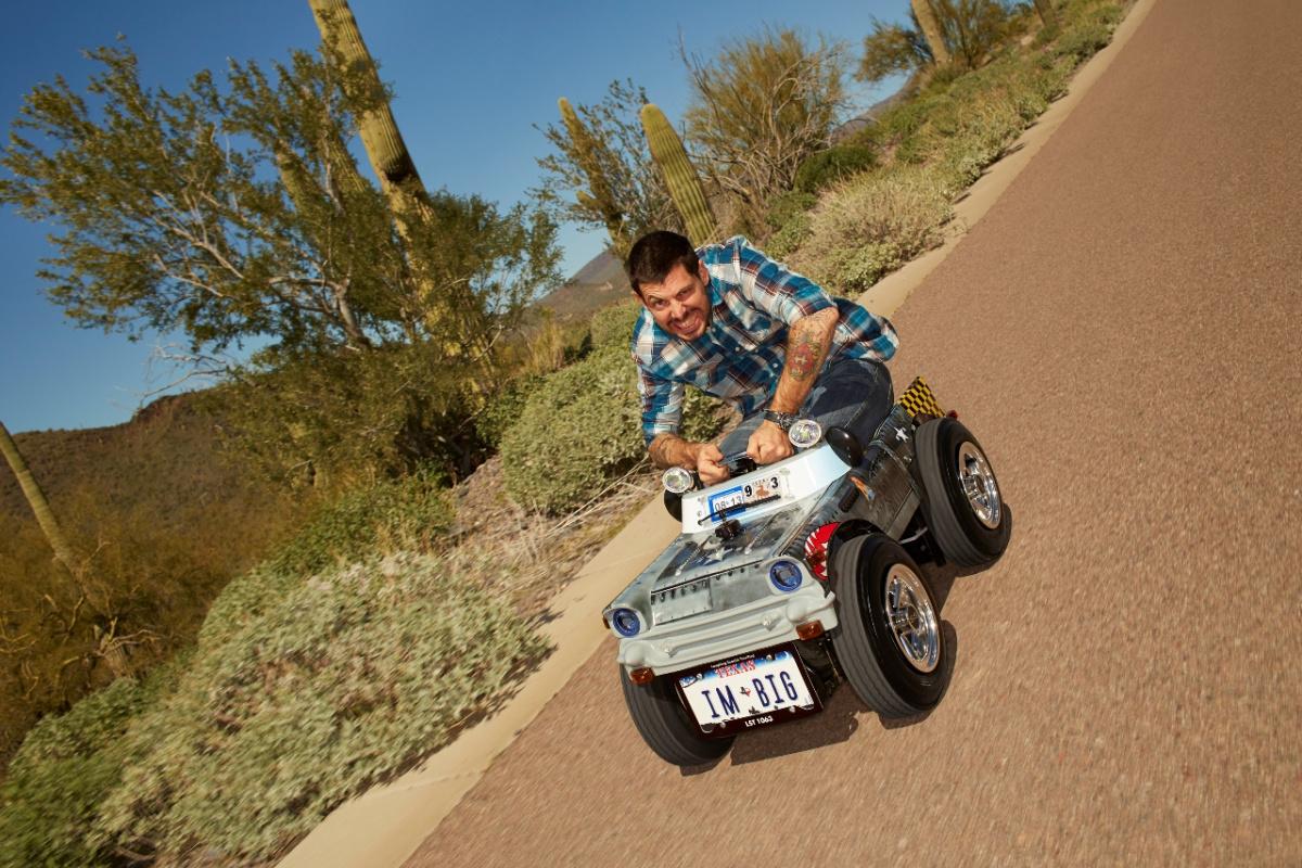 Самый маленький в мире автомобиль для дорог общего пользования