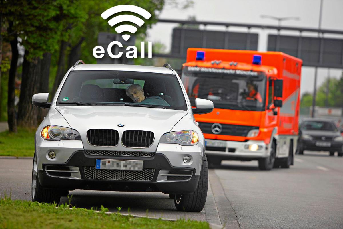eCall - система аварийной безопасности автомобиля